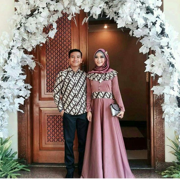 Model Baju Lebaran Syar'i Bqdd 11 Inspirasi Model Batik Sarimbit Untuk Lamaran Biar
