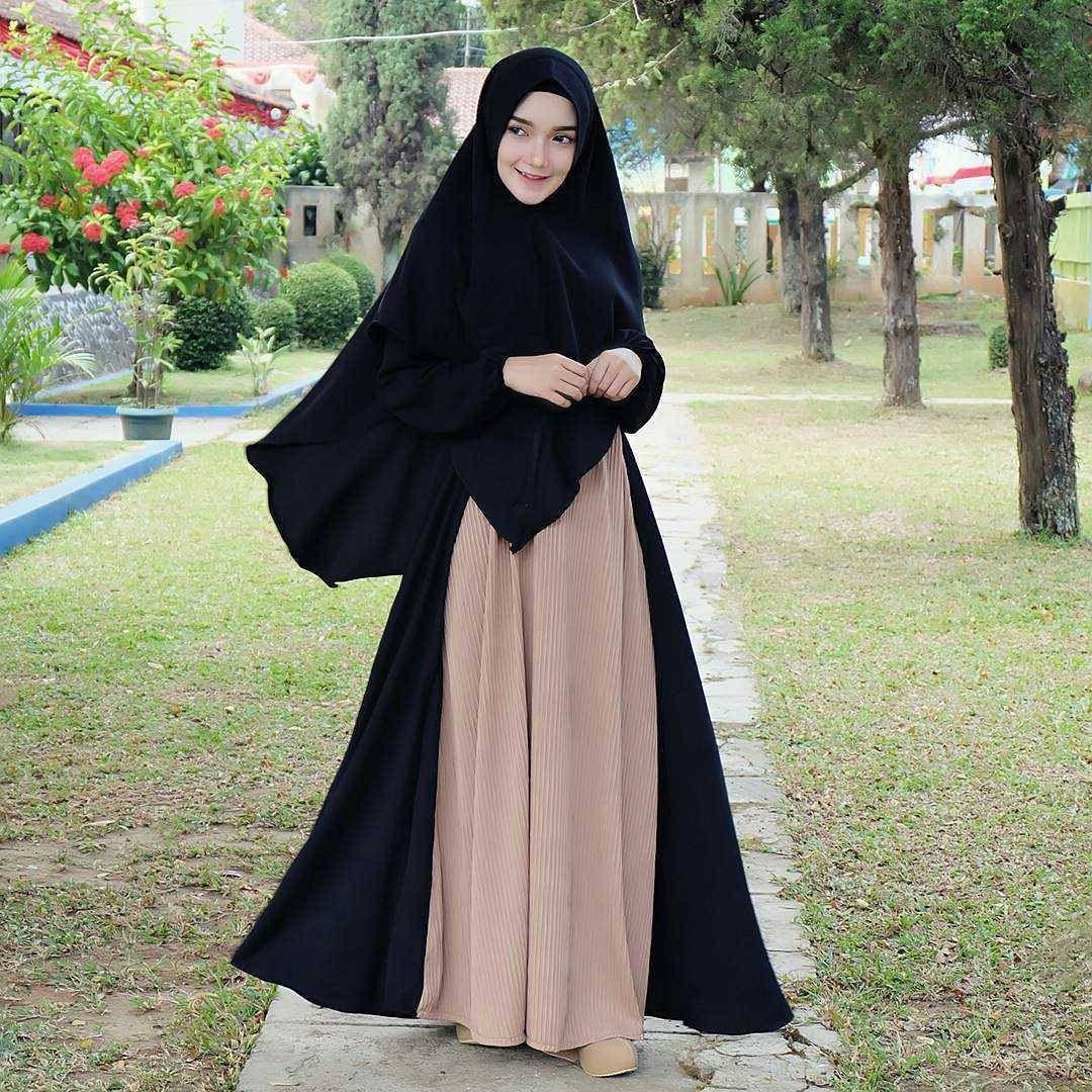 Model Baju Lebaran Syari 2019 Zwdg Kerudung Syar'i Terbaru 2019 Tampilkan Model Keren