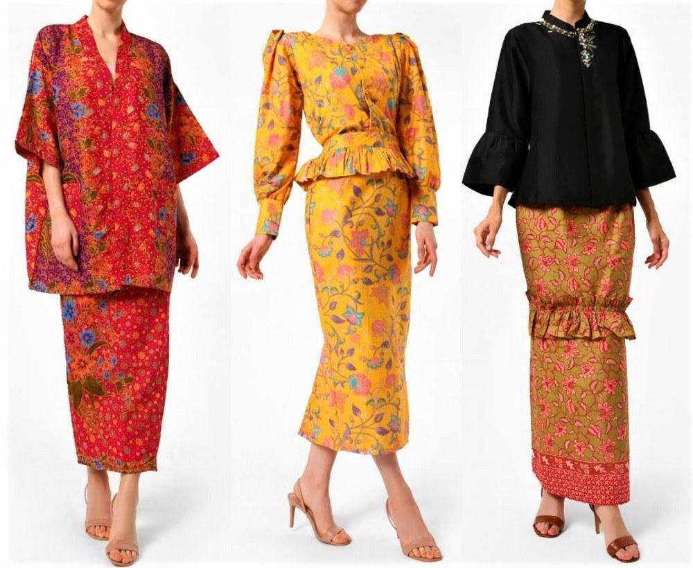 Model Baju Lebaran Tahun 2019 Etdg Trend Baju Raya 2019 Bikin Rambang Mata Wanista