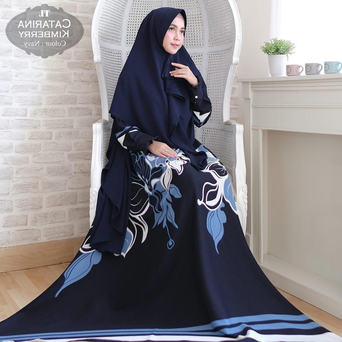 Model Baju Lebaran Tanah Abang 2018 Zwd9 Jual Baju Gamis Syar'i Bahan Catarina Import G8001 Cipulir