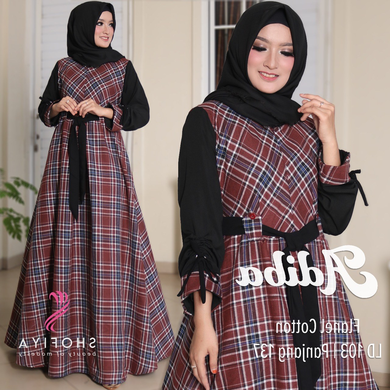 Model Baju Lebaran Untuk Nenek Ffdn Baju Gamis Terbaru Lebaran Wa 0811 5131 482