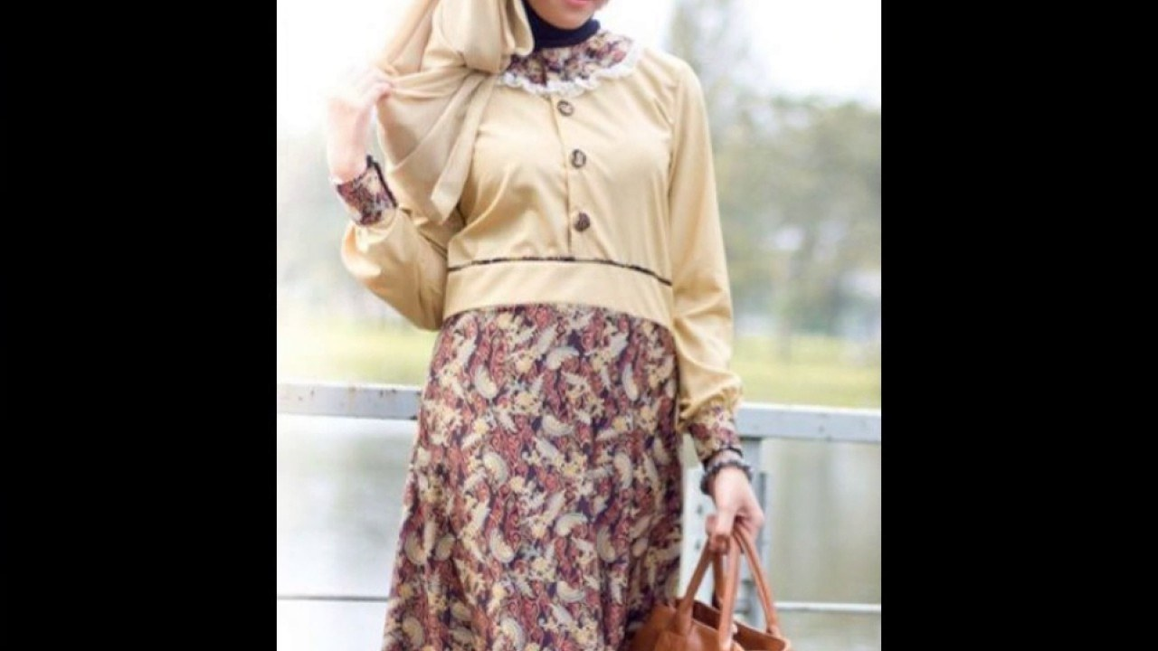 Model Baju Lebaran Untuk Nenek Txdf Koleksi Model Baju Batik Untuk Lebaran Terbaru 2017 Keren