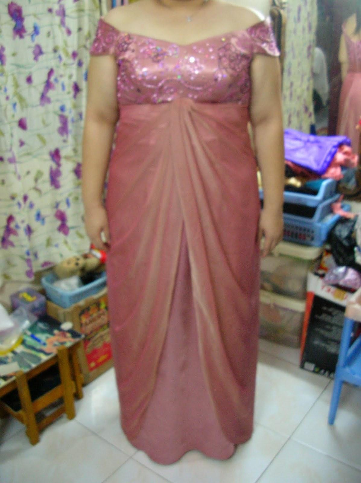 Model Baju Lebaran Untuk orang Gemuk 9ddf Payet Gaun Pesta
