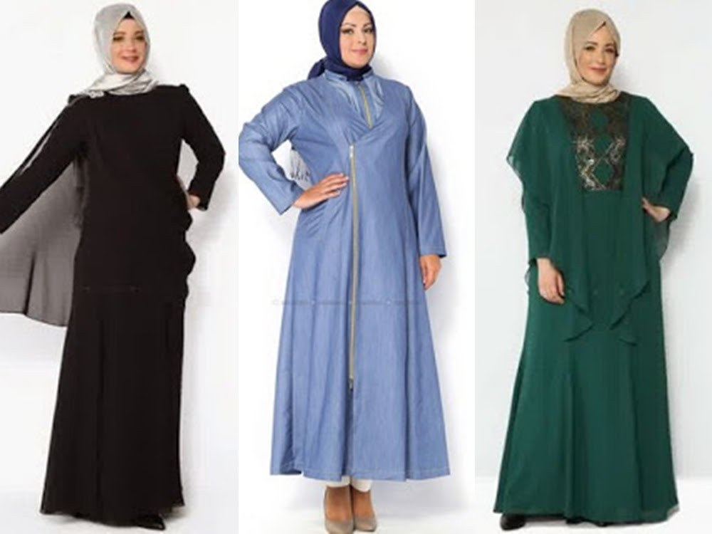Model Baju Lebaran Untuk orang Gemuk Qwdq 10 Model Baju Lebaran Untuk Wanita Muslim Gemuk