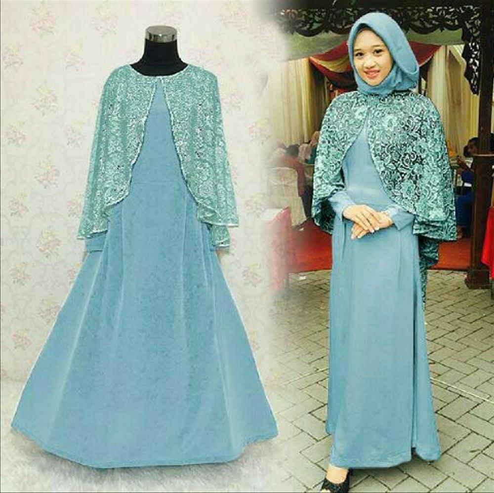 Model Baju Lebaran Untuk orang Gemuk X8d1 49 Baju Gamis Pesta Untuk Wanita Gemuk Yang Banyak Di Cari