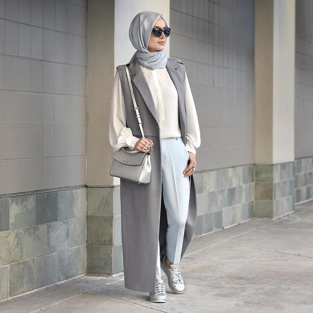Model Baju Lebaran Wanita 2018 Mndw 25 Trend Model Baju Muslim Lebaran 2018 Simple & Modis