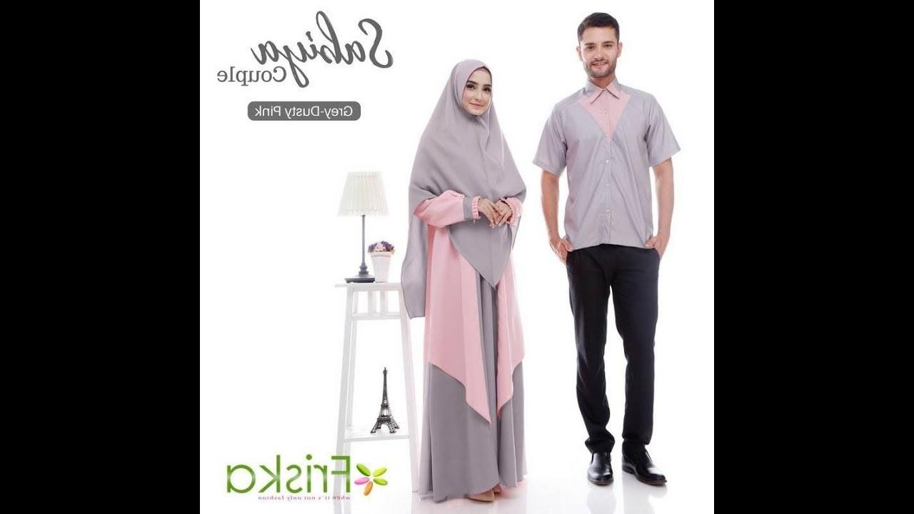 Model Baju Lebaran Wanita 2018 T8dj Baju Couple Lebaran 2018 Syar I Baju Couple Untuk