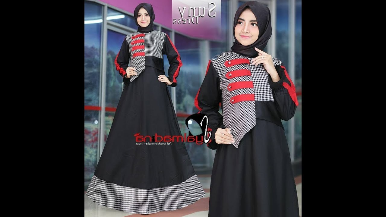 Model Baju Lebaran Wanita Trend 2018 Ftd8 4 Model Baju Wanita Muslim Simple Cantik Modern Terbaru