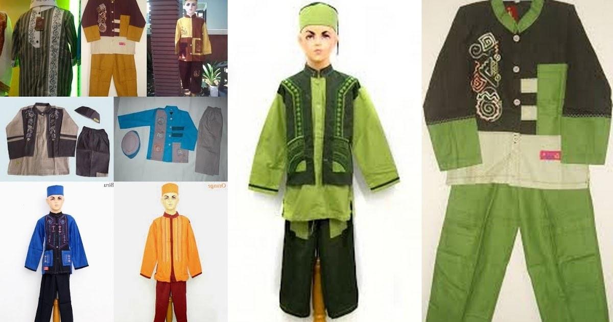 Model Desain Baju Lebaran Txdf Contoh Desain Baju Koko Anak Untuk Lebaran Terbaru