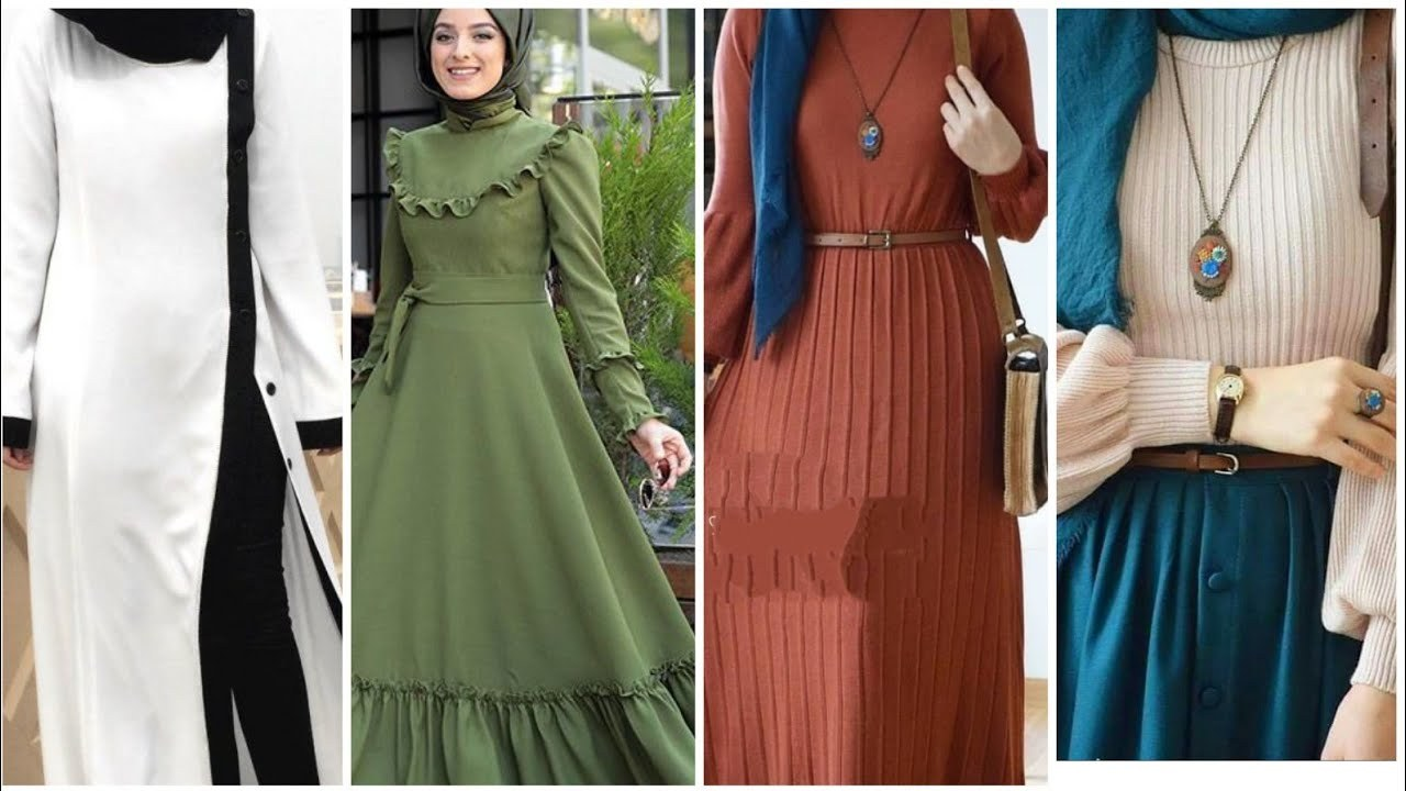 Model Fashion Muslim 2020 Fmdf top 30 Elegant Long & Short Muslim Modest Fashion
