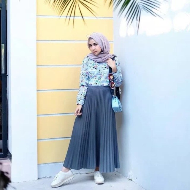 Model Fashion Muslimah Casual Jxdu Ready Stock Baju Muslimah Fashion Casual Long Pleated