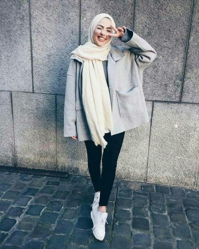 Model Fashion Muslimah Casual Wddj Pin Oleh V I N A Di Muslimah