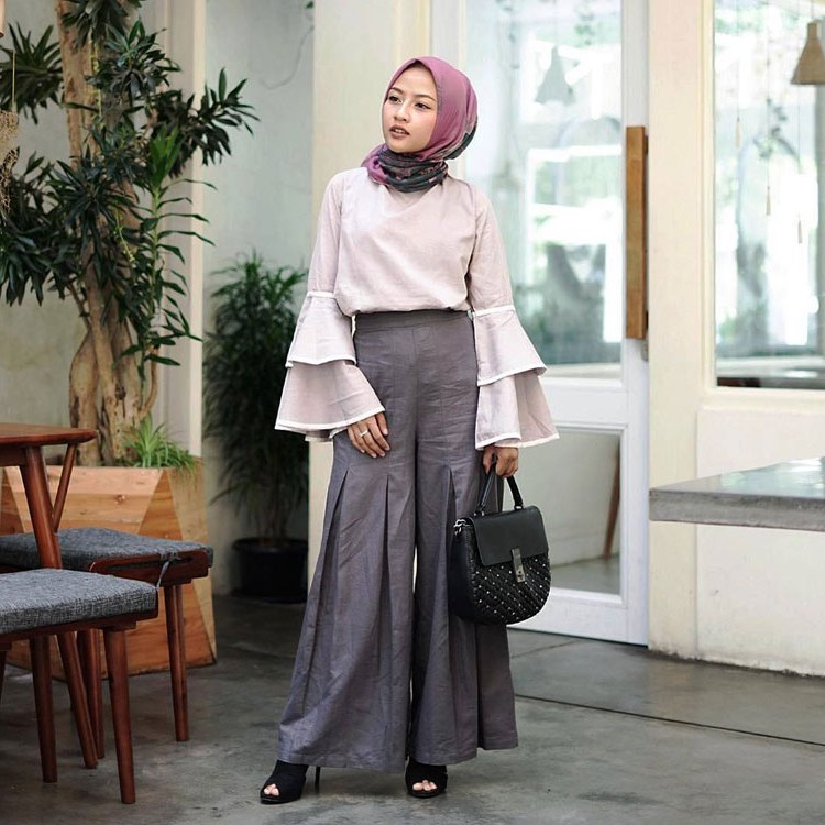 Model Fashion Muslimah Remaja Irdz 30 Style Hijab Casual Simple Kekinian Remaja Vintage