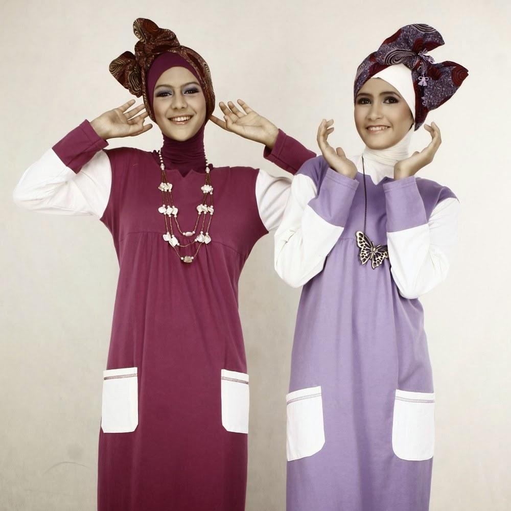 Model Fashion Muslimah Remaja Kvdd Gambar Busana Muslim 2015