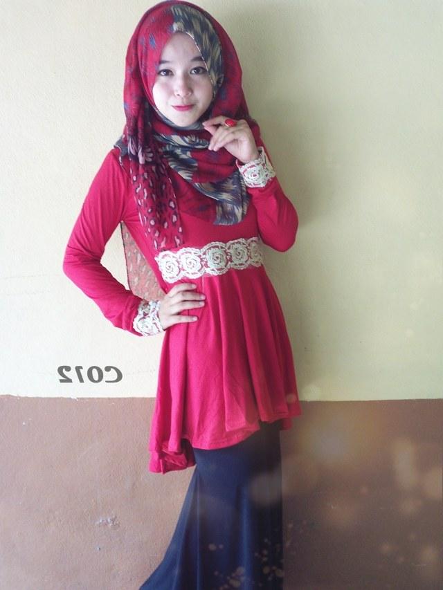 Model Fashion Muslimah Terkini Dwdk Baju Raya Dan Fesyen Muslimah Terkini 2013 Love is Cinta