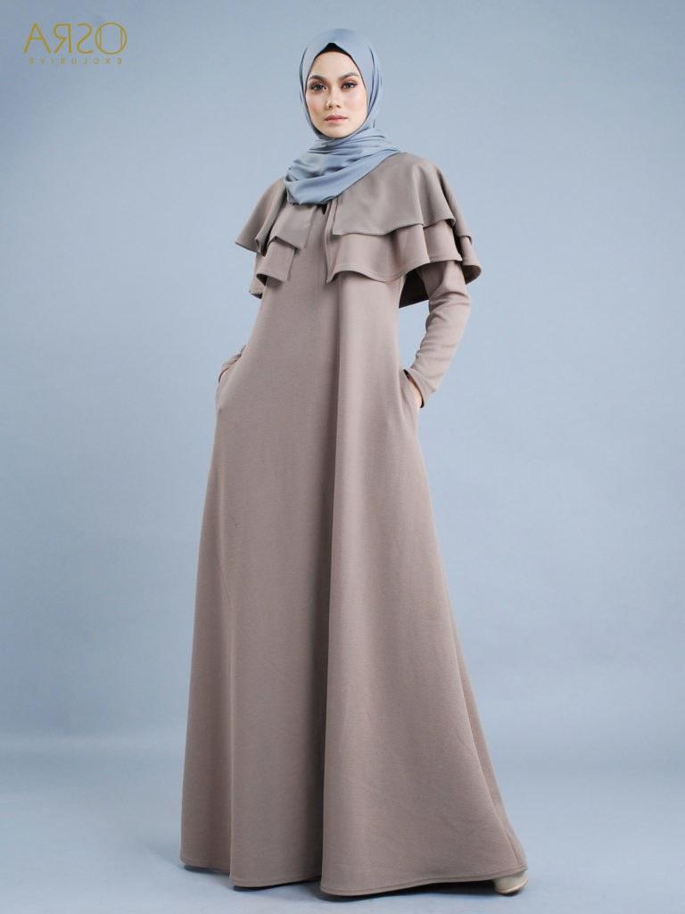 Model Fashion Muslimah Terkini O2d5 Fesyen Muslimah Terkini Hari Raya 2018
