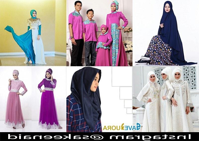 Model Gambar Model Baju Lebaran S1du Model Gambar Baju Muslim Lebaran Trend Terbaru Tahun Ini 2018