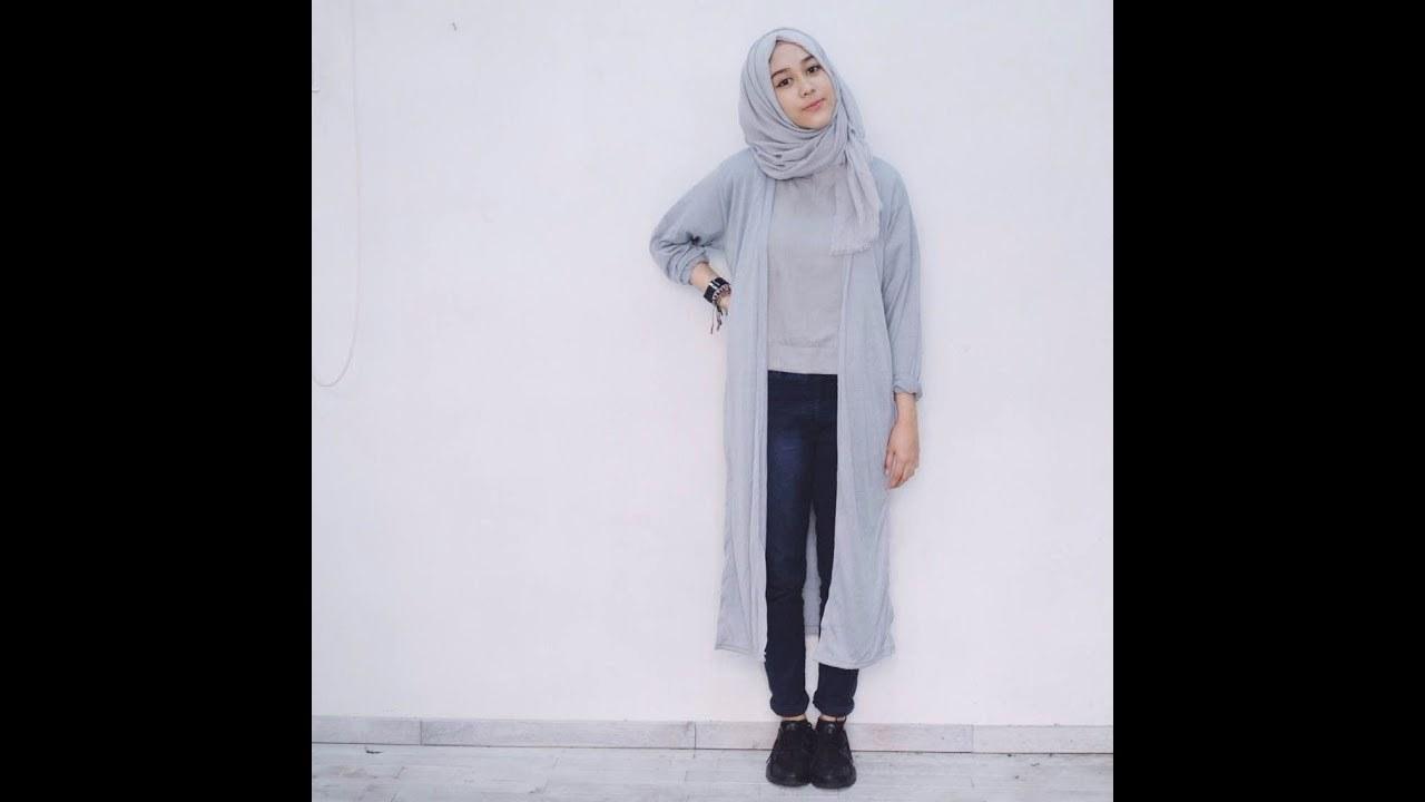 Model Gaya Baju Lebaran Etdg Gaya Baju Muslim Casual Keren Tapi sopan Cocok Buat
