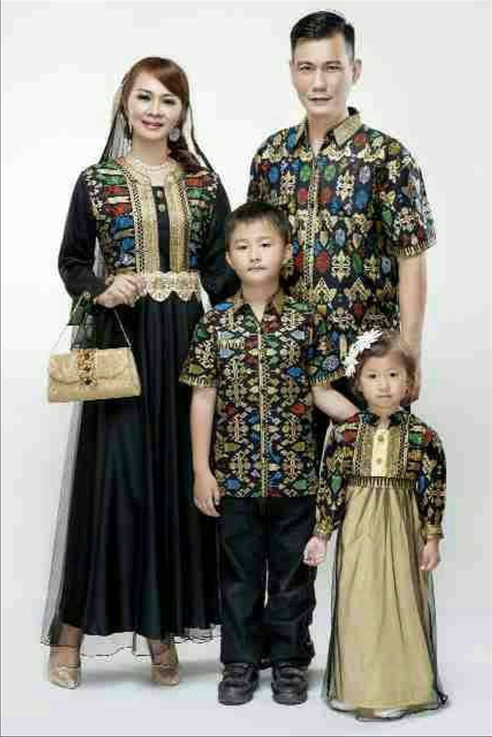 Model Harga Baju Lebaran Anak Nkde Jual Baju Batik Sarimbit Keluarga Couple Family Dengan 2