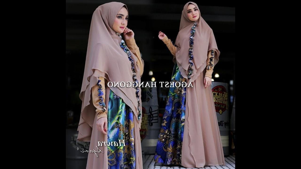 Model Inspirasi Baju Lebaran Keluarga 2019 Dddy Baju Gamis Syari Terbaru 2019 Edisi Hawra