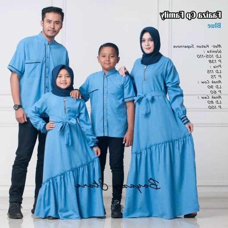 Model Model Baju Lebaran 2019 Keluarga E9dx Baju Lebaran Keluarga Terbaru Faaiza Gamissyari