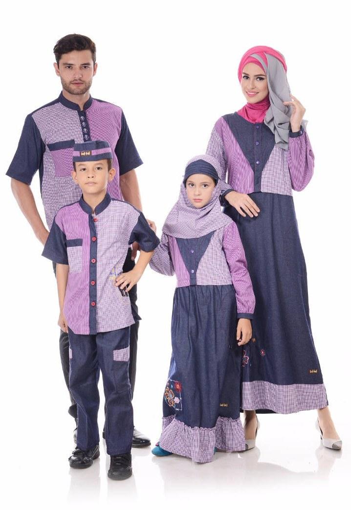 Model Model Baju Lebaran Sekeluarga Q0d4 Memilih Dan Memadukan Model Baju Muslim