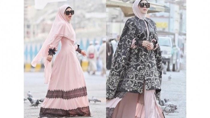 Model Model Baju Lebaran Syahrini Tqd3 Cetar Membahana Deretan Baju Muslim Yang Dipakai Syahrini