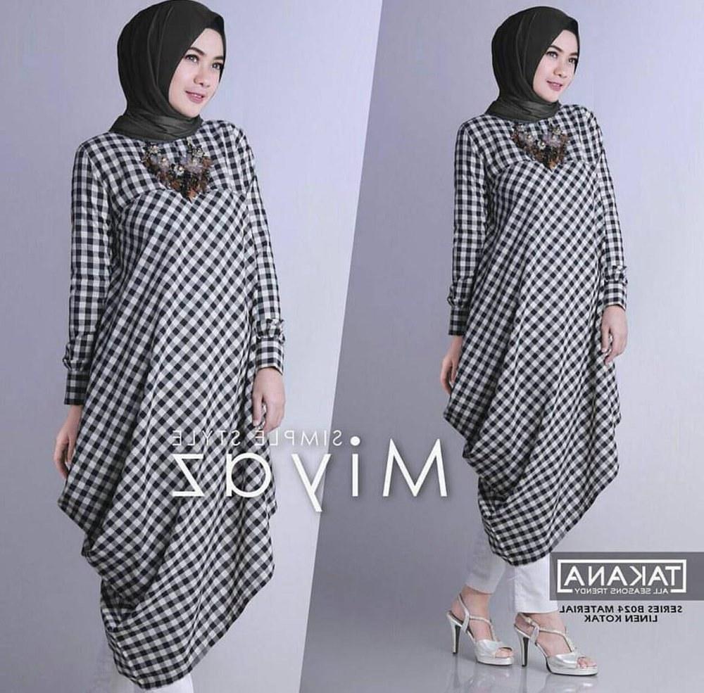 Model Motif Baju Lebaran Zwd9 Jual Sale Termurah Tunik Tartan Kotak Kotak Motif Baju