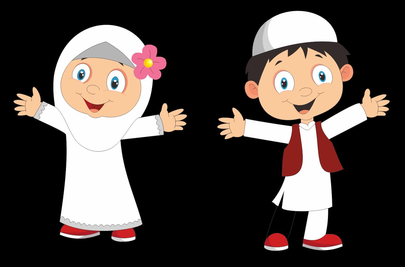 Model Muslimah Kartun Png 3id6 Berbagi Informasi Kumpulan Cartoon Anak Muslim Cdr