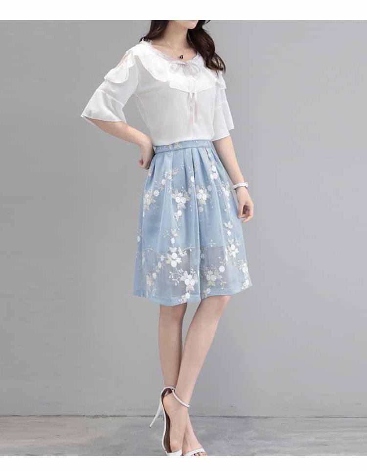 Model Setelan Baju Lebaran 2018 Nkde Baju Setelan Wanita Korea Modern 2018