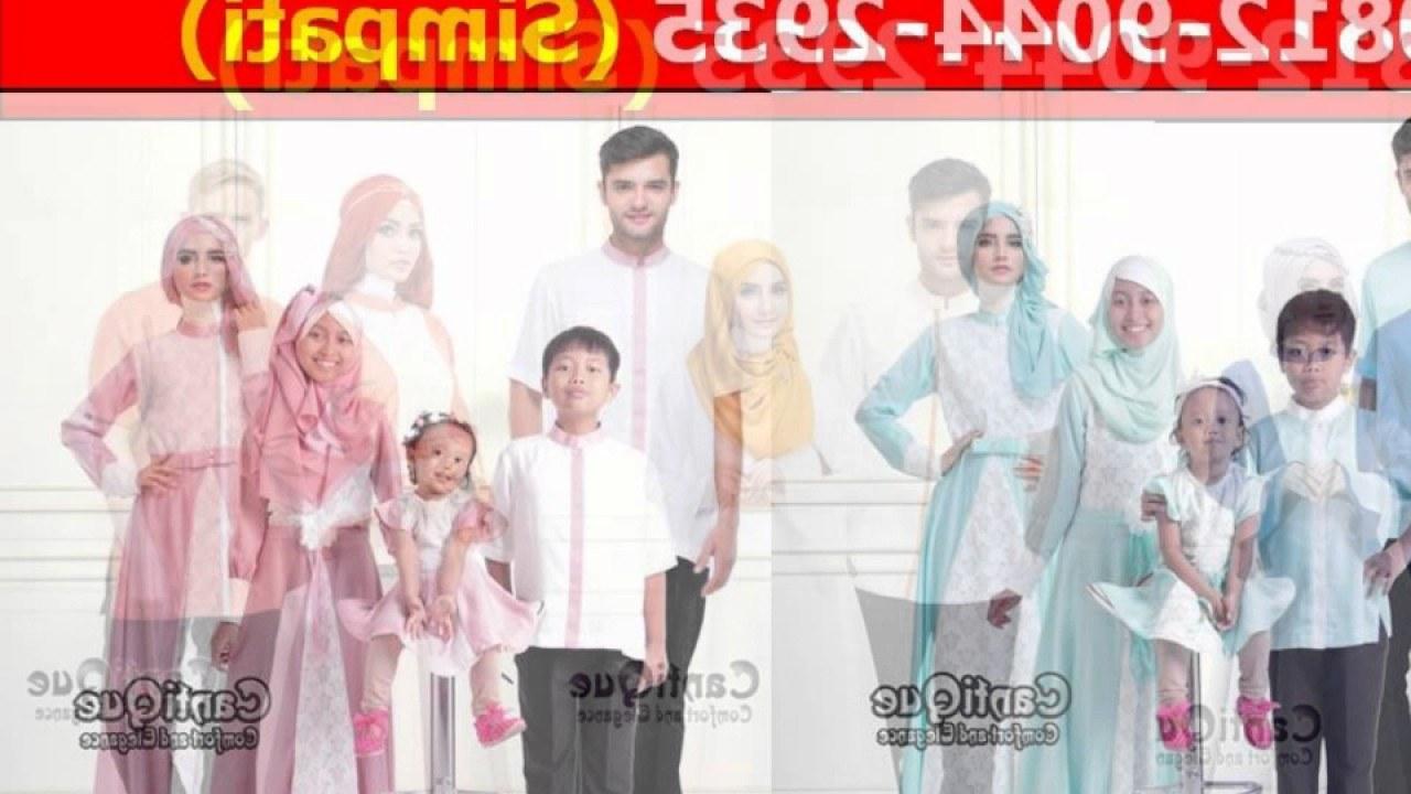 Model Sewa Baju Lebaran 0gdr Jual Baju Muslim Keluarga Lebaran Di Yogyakarta