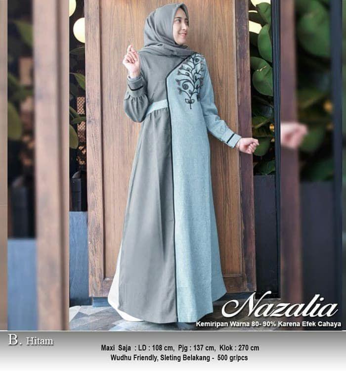Model-Gamis-Remaja-Modern-Terbaru-2019-Nazalia-Hitam.jpg