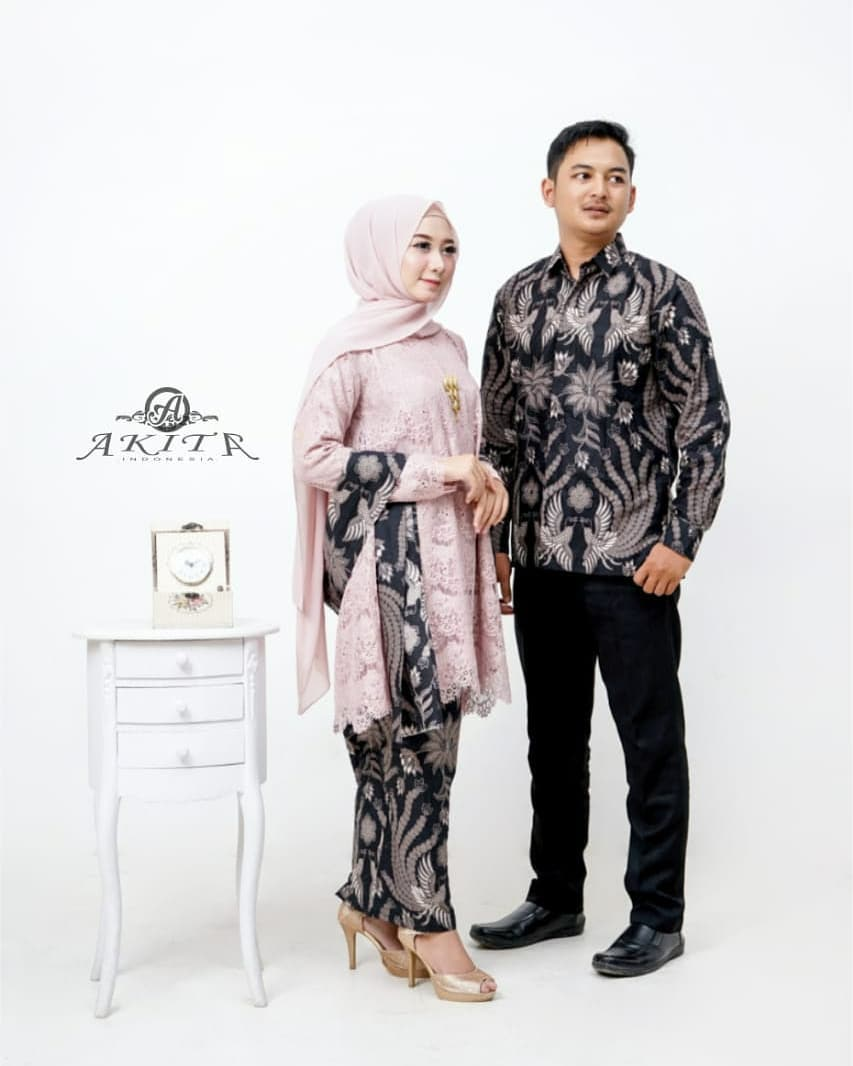 Model Baju Batik Couple Remaja Paling Modis 2019jpg Ragam