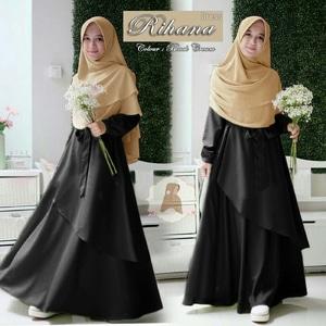 Model-Baju-Gamis-Syari-Polos-Setelan-Khimar-Terbaru-Warna-Hitam.jpg