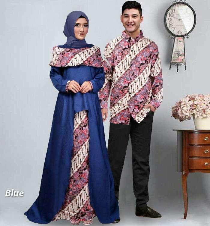 baju-Gamis-pasangan-batik-terbaru-Sabna-biru-mg.jpg