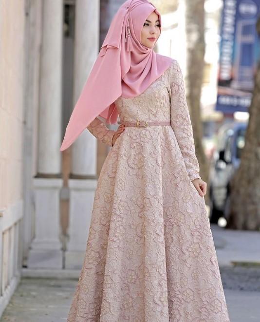 Model-Baju-Gamis-Pesta-Brokat-Cream-Muda.jpg