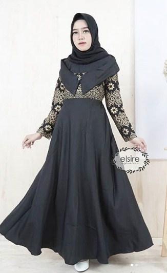 Gambar-Model-Baju-Gamis-Batik-Kombinasi-Kain-Polos.jpg