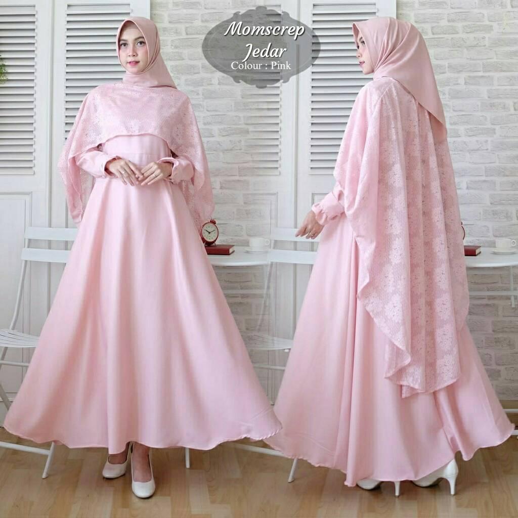 Baju-muslim-gamis-wanita-modern-tanah-abang-seragaman-pesta-jedar-pink.jpg