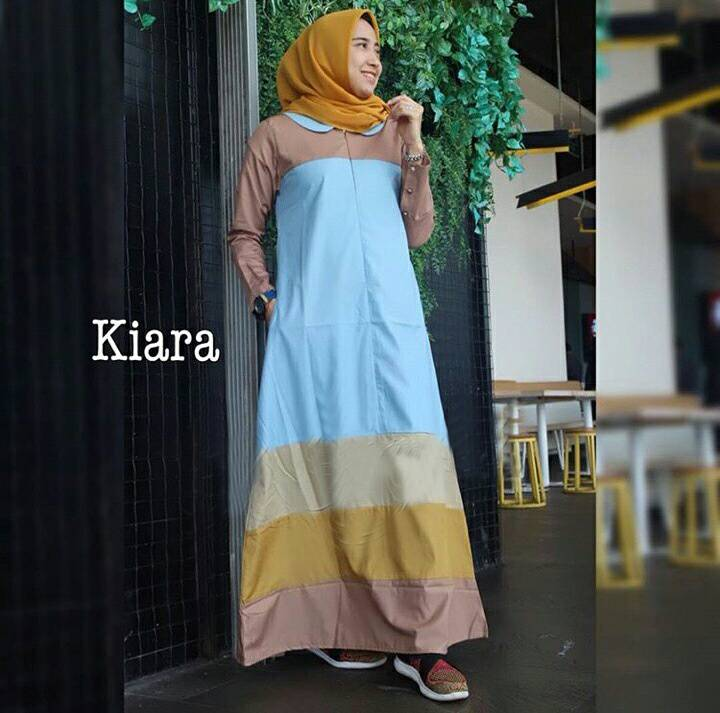 baju-gamis-modern-terbaru-2018-Kiara-biru-r2.jpg