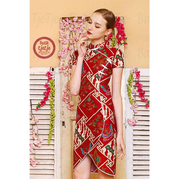 Desain Baju Batik Modern Wanita Muslim Ragam Muslim