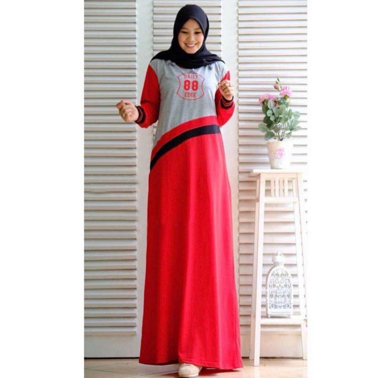 Gamis-remaja-modis-terbaru-2019-letisa-merah.jpg