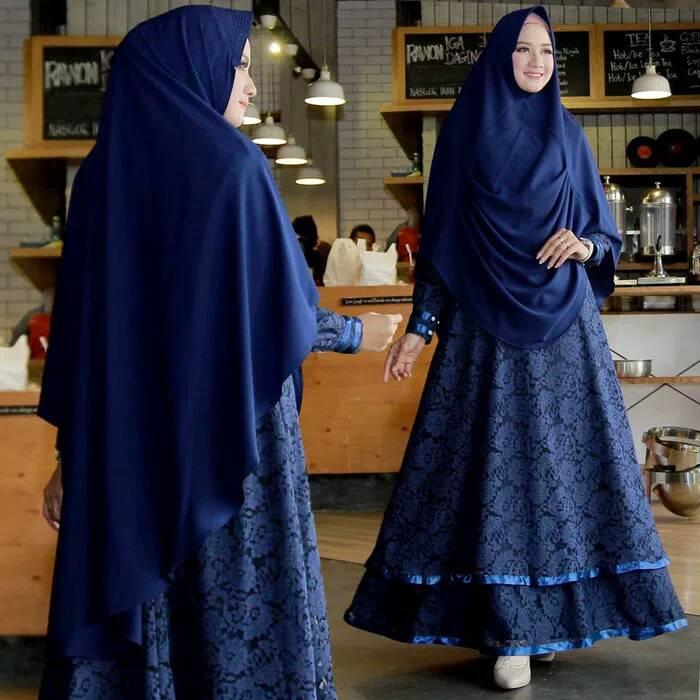Baju-gamis-modern-2018-kerudung-pet-walimah-2-syari-navy-biru-dongker.jpg