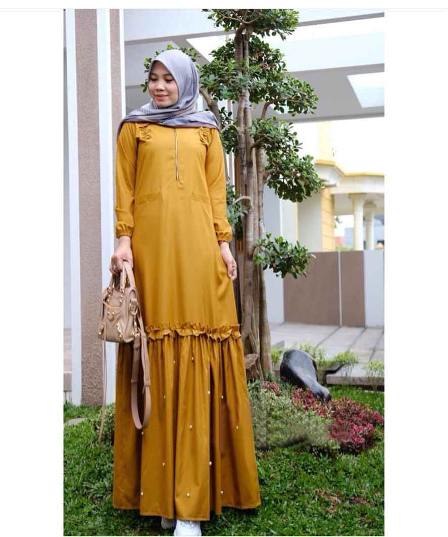 Model Baju Gamis Kain Toyobo Ragam Muslim
