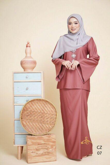 Baju Pengantin Muslimah Simple Tapi Elegan Elegant Kurung Kedah Che Zaiton