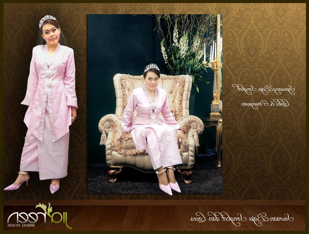 Bentuk Baju Kebaya Pengantin Muslim 9ddf Jiareen Bridal House May 2010