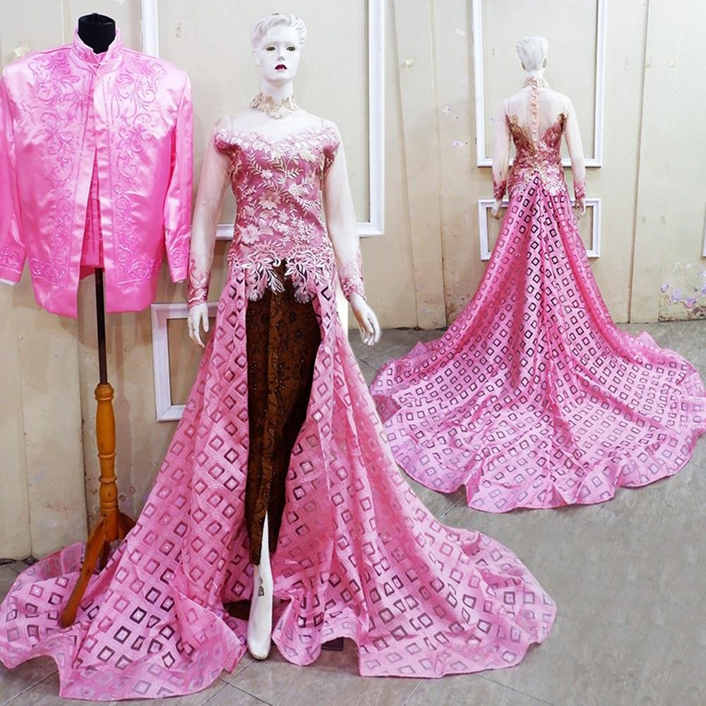 Bentuk Baju Kebaya Pengantin Muslim Ipdd Jual Produk Pengantin Couple Kebaya Murah Dan Terlengkap