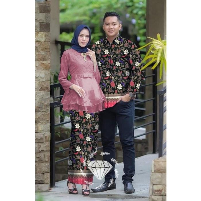 Bentuk Baju Pengantin Kebaya Muslim Q5df Jual Od Fashion Couple Kemeja Dan Kebaya Wardah Dki Jakarta Nani Olshop