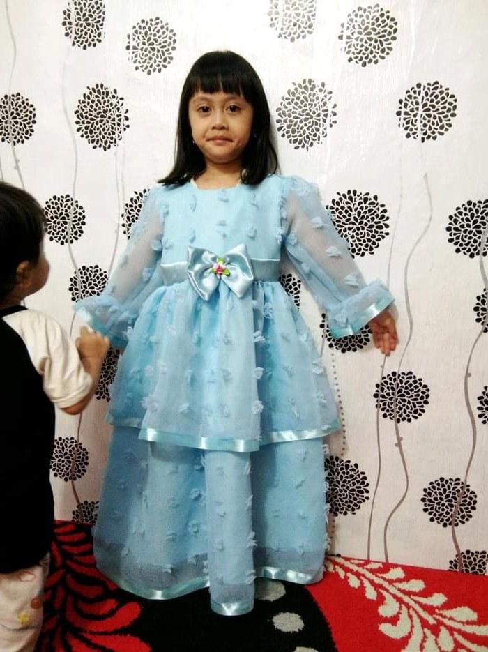 Bentuk Baju Pengantin Kebaya Muslim Tqd3 Jual Baju Gaun Muslim Anak Perempuan Dki Jakarta Franziska