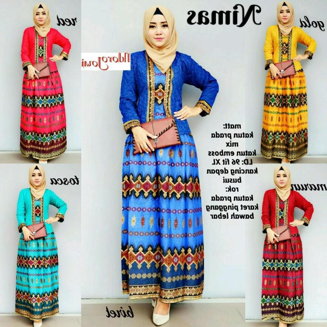 Bentuk Baju Pengantin Muslimah Online S1du Nimas Set Women S Fashion Muslimah Fashion On Carousell