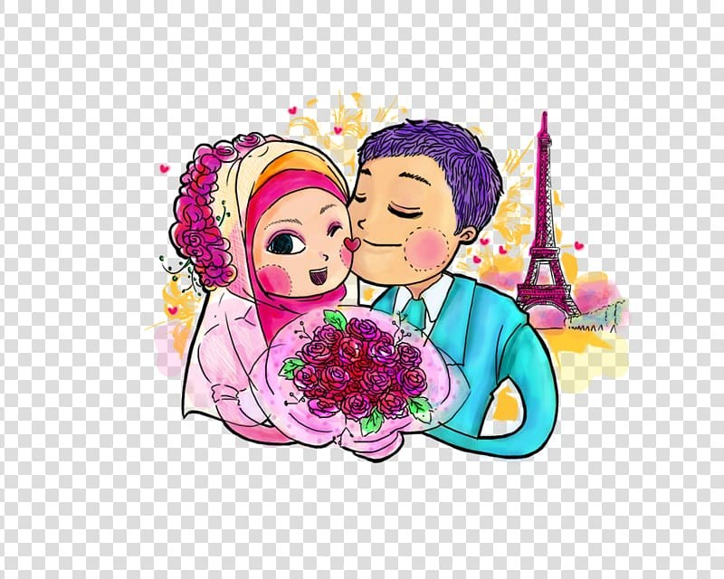 Bentuk Busana Pengantin Muslim, Busana Pengantin Muslimah E9dx Marriage In islam Transparent Background Png Cliparts Free